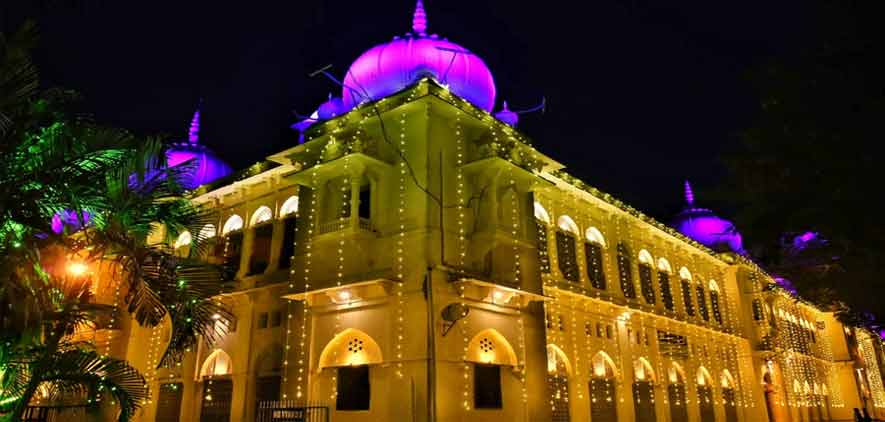 University Decked up for the Centenary Celebrations