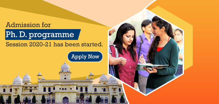 Ph.D.Programmes Admission Session 2020-21