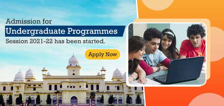Centralized Undergraduate Programmes Admission Session 2021-22