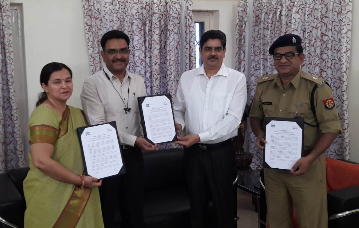 Agreement between Department of Psychology, University of Lucknow, Lucknow and 112 (U P Police) Uttar Pradesh for psychological support for 112 personnel with the COVID-19 challenge