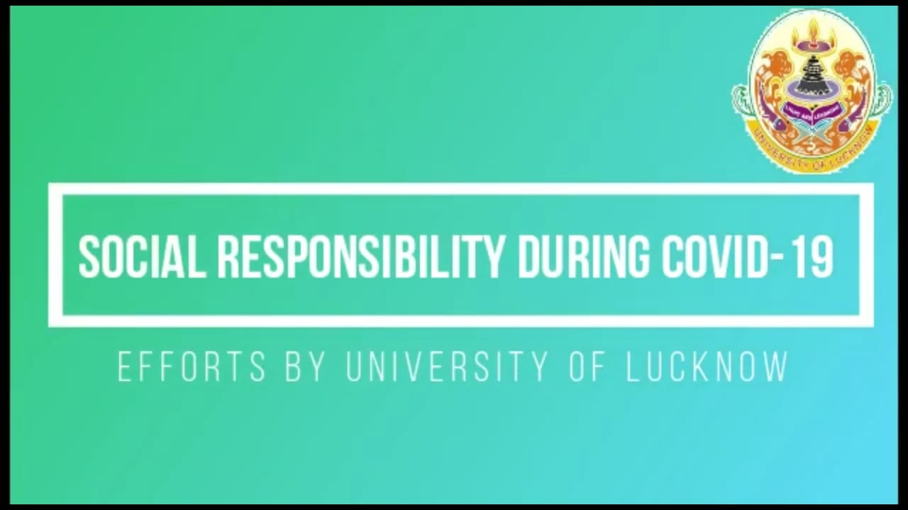 University of Lucknow Community Kitchen completes one month. A short documentary on how the Kitchen runs, and manages quality, quantity and human dignity through its food.