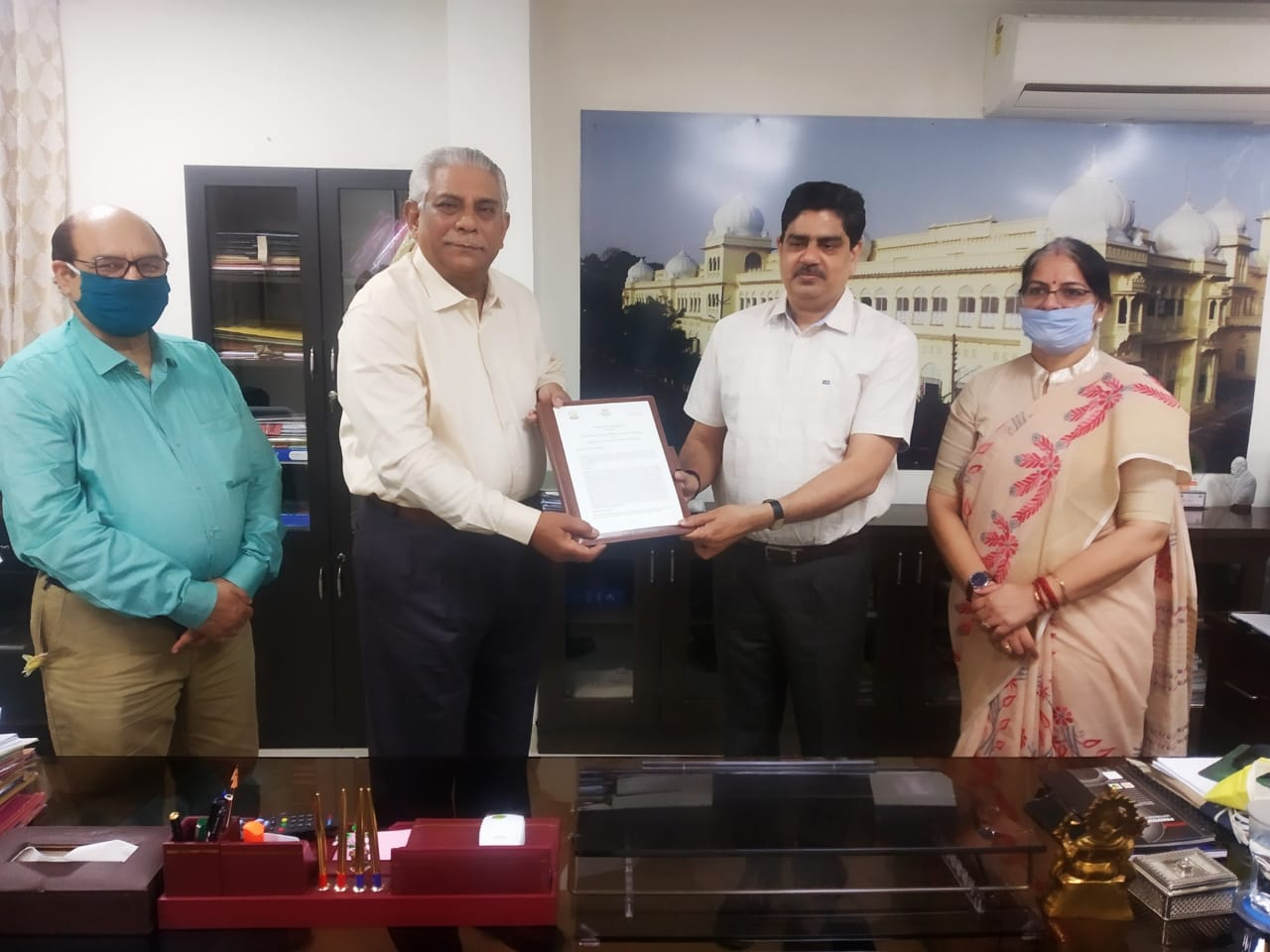 University of Lucknow signs MoU with UP State Disaster Management Authority