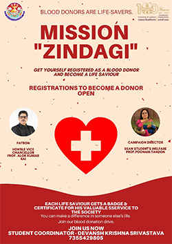 UniversityOfLucknow organises Mission Zindagi. Find out more here!