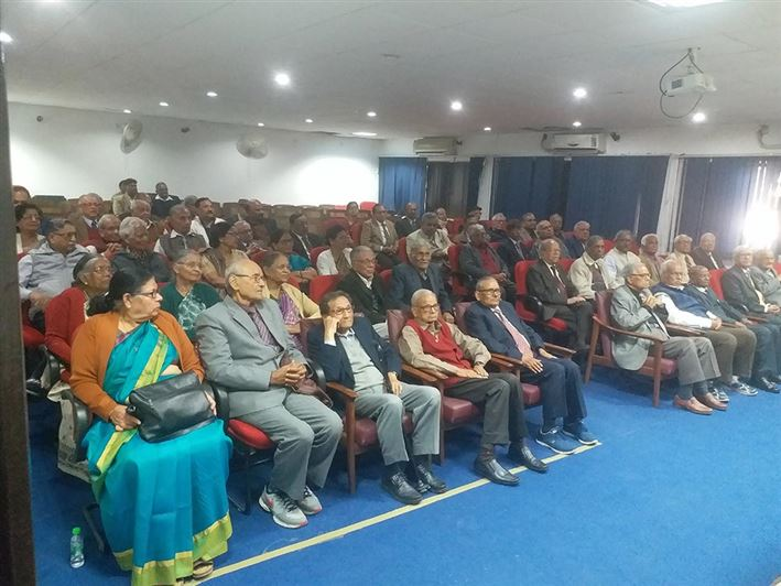 Annual Meet of Retired Teachers of Lucknow University